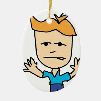 the bullyboy ceramic ornament