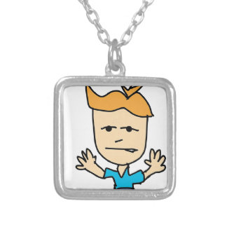 the bullyboy silver plated necklace