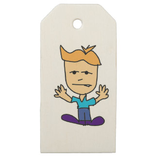 the bullyboy wooden gift tags