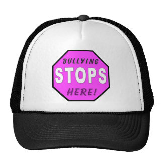 The Bullying Stops Here Mesh Hats