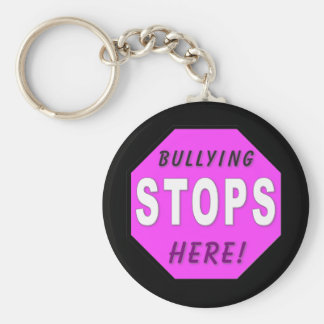 The Bullying Stops Here Keychain