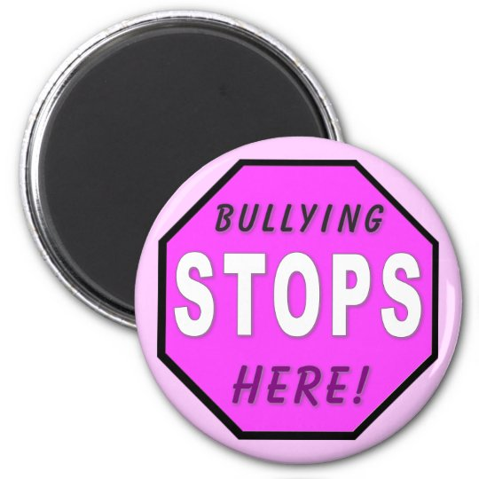 The Bullying Stops Here Magnet