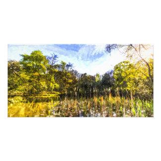 The Bulrush Pond Art Card