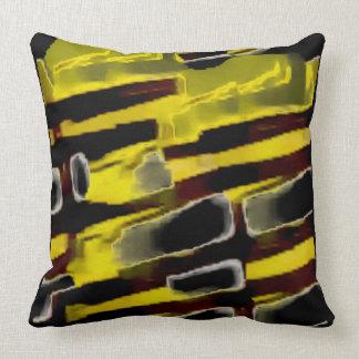 The Bumblebee Close-up Throw Pillow