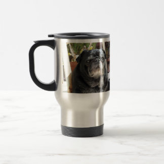"The Bumblesnot ""Most Interesting Dog"" commuter mug"