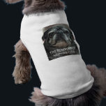 """The Bumblesnot pet shirt<br><div class=""""desc"""">Let your 4-legged friend show he&#39;s buds with The Bumblesnot! Available in many sizes,  colors and styles.   All proceeds donated to Pug rescue organizations.</div>"""