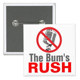 The Bum's RUSH 2 Inch Square Button
