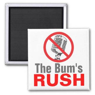 The Bum's RUSH 2 Inch Square Magnet