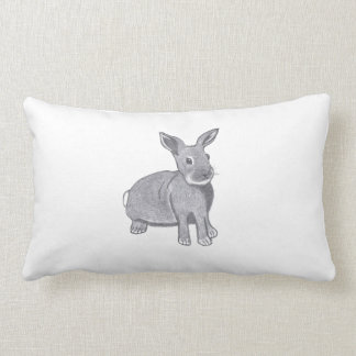 The Bunny...American MoJo Pillow