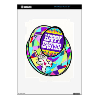 The Bunny and the Easter Eggs. iPad 2 Decals