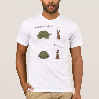 The Bunny and The Turtle T-Shirt