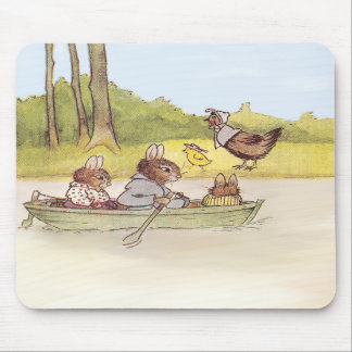 The Bunny Boys go Boating Mousepads