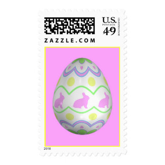 The Bunny Egg Stamps