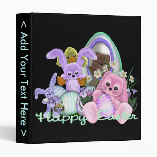 The Bunny Family 3 Ring Binder