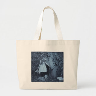 The Bunny Herder Large Tote Bag