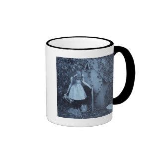 The Bunny Herder Ringer Coffee Mug