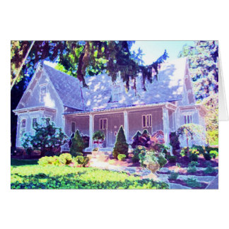 The Burg Cottage Card