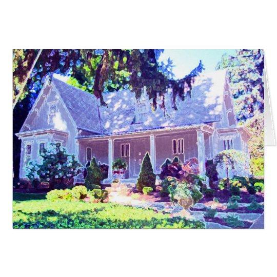The Burg Cottage Card