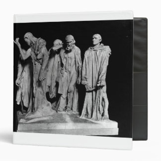 The Burghers of Calais, 1889 3 Ring Binder