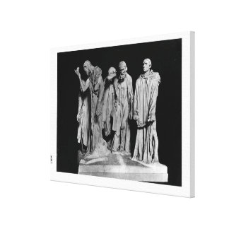 The Burghers of Calais, 1889 Canvas Print