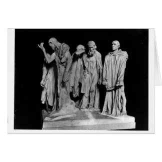 The Burghers of Calais, 1889 Card