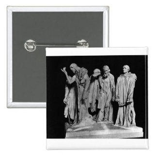 The Burghers of Calais, 1889 Pinback Button