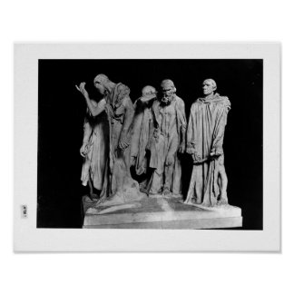 The Burghers of Calais 1889 Poster
