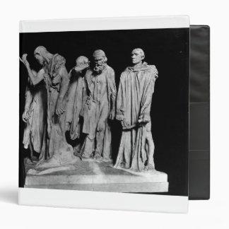 The Burghers of Calais, 1889 Vinyl Binder