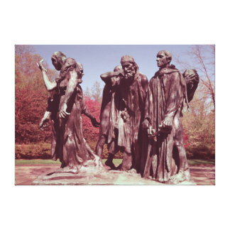 The Burghers of Calais Canvas Print
