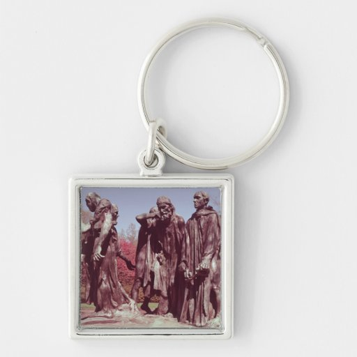 The Burghers of Calais Keychain