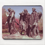 The Burghers of Calais Mouse Pad