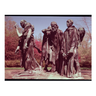 The Burghers of Calais Postcard