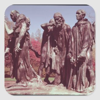 The Burghers of Calais Stickers