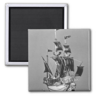 The Burghley Nef 2 Inch Square Magnet