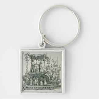 The Burgundian Marriage Keychain
