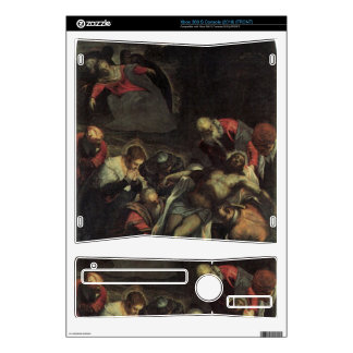 The burial by Tintoretto Xbox 360 S Console Skin