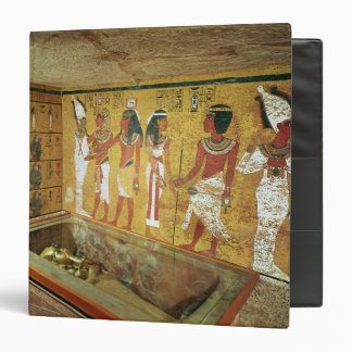 The burial chamber in the Tomb of Tutankhamun Binders