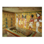 The burial chamber in the Tomb of Tutankhamun Post Cards