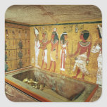 The burial chamber in the Tomb of Tutankhamun Sticker