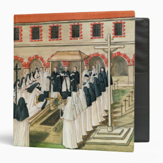 The Burial of a Nun, from 'l'Abbaye de 3 Ring Binders