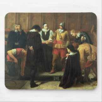 The Burial of Charles I (1600-49) at St. George's Mouse Pad