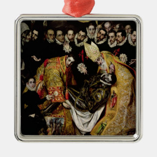 The Burial of Count Orgaz Ornament