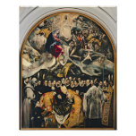 The Burial of Count Orgaz Print
