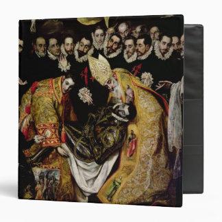 The Burial of Count Orgaz Vinyl Binder
