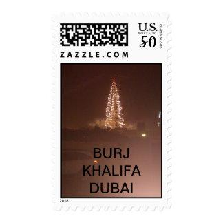 The BURJ KHALIFA STAMP