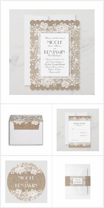 The Burlap and Lace Suite