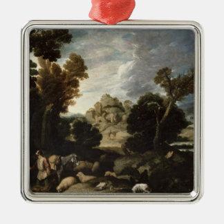 The Burning Bush, c.1635 Metal Ornament
