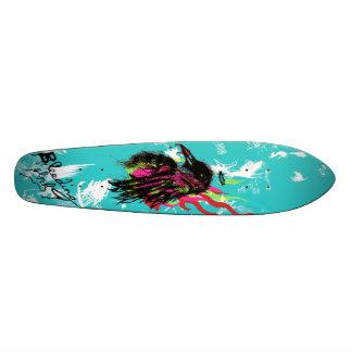 The Burning Crow Skateboard