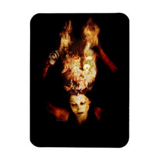 The Burning Darkness Photo Magnet