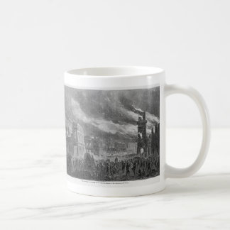 The Burning of Columbia by General Sherman Coffee Mug